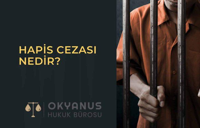 hapis cezası nedir